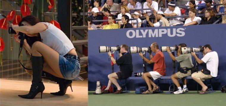 Фотографии о фотографах (95 фото)