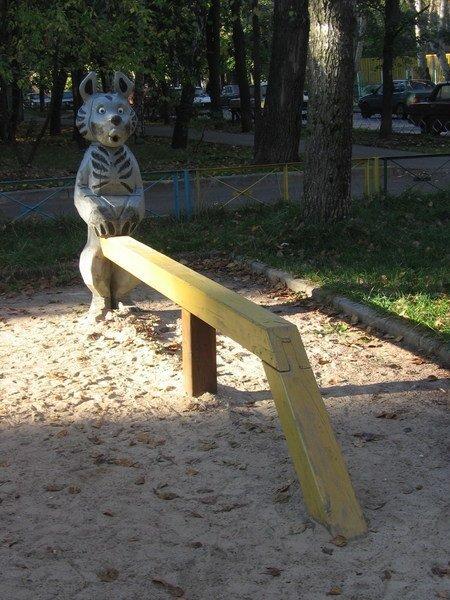 Психоделическая детская площадка (27 фото)