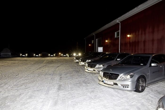 Фотоотчет с AMG Driving Academy Winter Sporting PRO (72 фото)