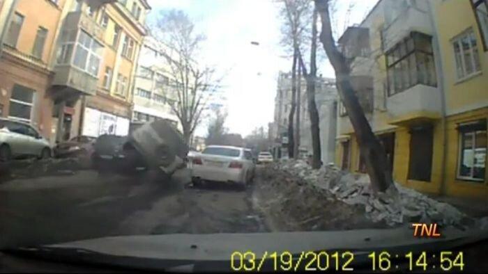 Авария дня часть 517 (фото+видео)