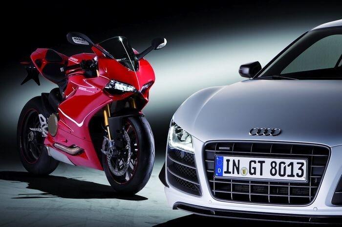 Компания Audi выкупила производителя мотоциклов Ducati (текст)