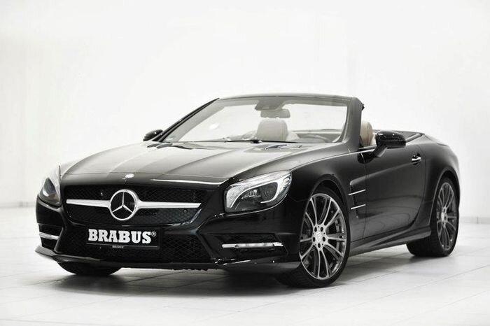 Новый Mercedes-Benz SL от ателье Brabus (12 фото)