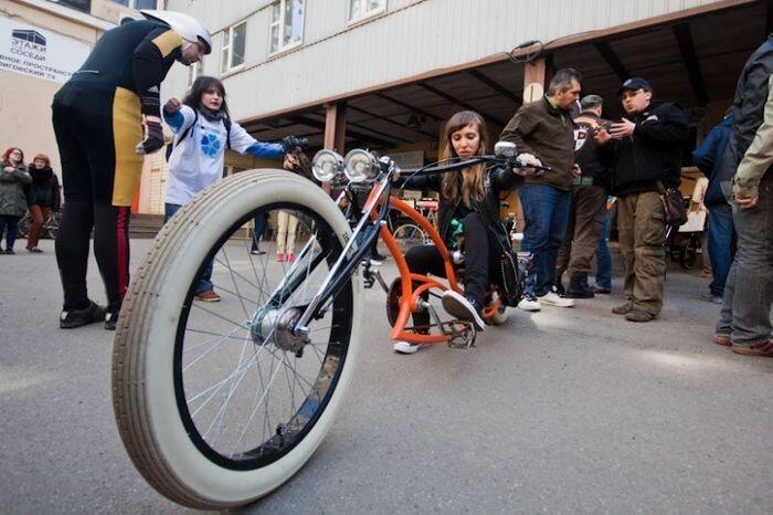 В Санкт-Петербурге прошла выставка необычных велосипедов (36 фото)
