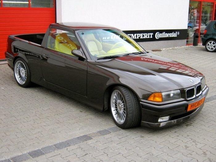 Пикап на базе BMW E36 Coupe (16 фото)