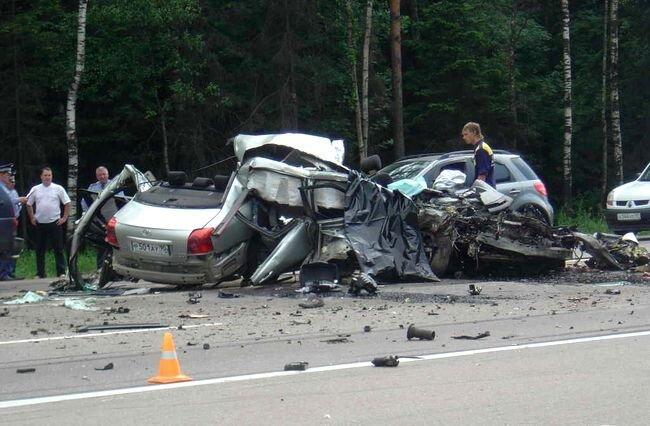 Авария на Минском шоссе (24 фото)
