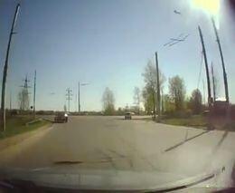 Бегом через дорогу