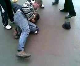 Драка с полицейским