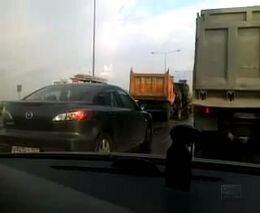 ДТП на Новорязанском шоссе