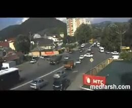 Авария в Лазаревском районе Сочи 16 августа