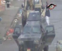 Лоялисты взорвали БТР йеменской армии