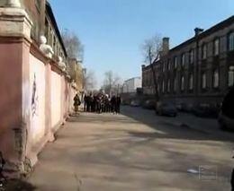 Драка фанатов Амкара и Кр. советов