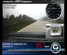 G-Power BMW M5 Hurricane RR Reaches 357 км/ч на автобане
