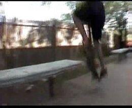 Жесткое падение скейтера от zubrilov за 13 апреля 2012