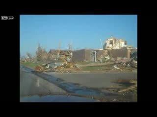 Разрушительный торнадо