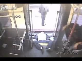 Нокдаун в автобусе