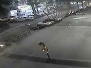 Падение с парковки