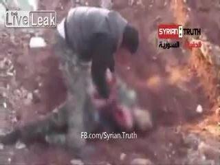 Каннибализм в Сирии