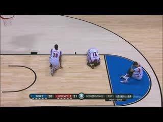 Баскетболист поломал ногу