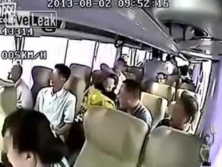 Жесткое дтп в Китае