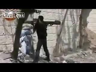 Выстрел танка