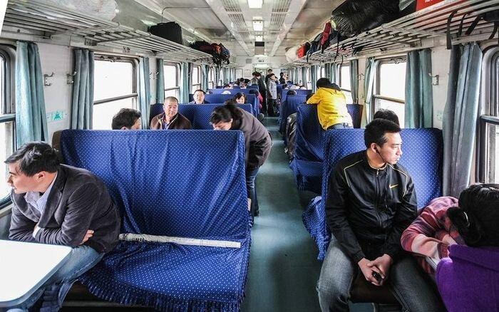 Особенности поездки на Китайских поездах (32 фото)