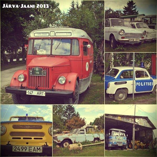 Музей старых автомобилей под открытым небом в Эстонии (72 фото)