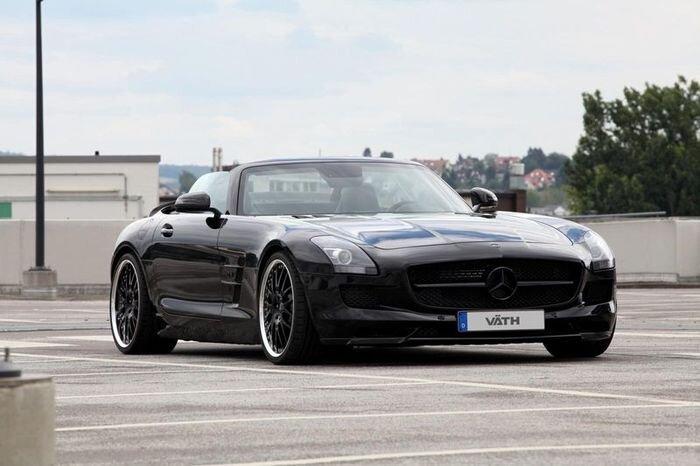 Ателье VATH Automobiltechnik прокачали Mercedes-Benz SLS AMG Roadster (10 фото)