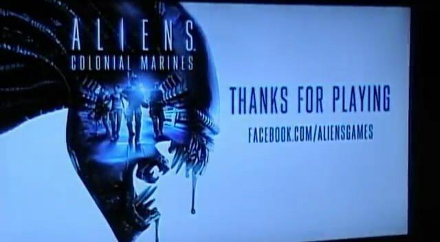 Видео Aliens: Colonial Marines с Comic-Con 2012 (видео)