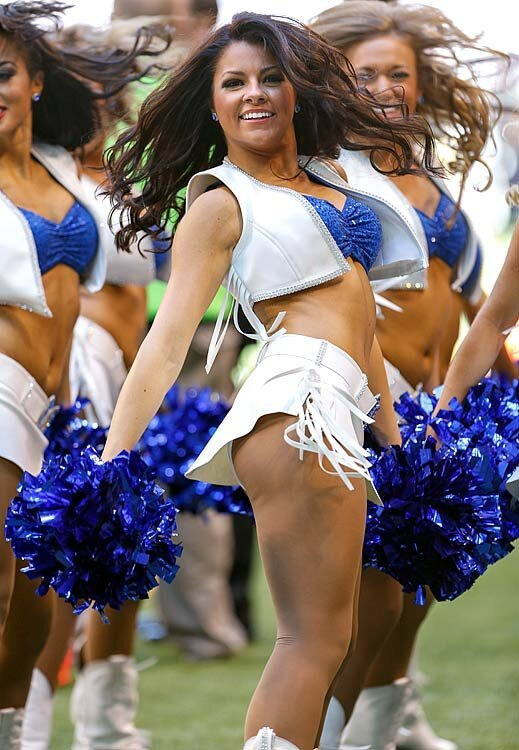 Sexy Cheerleaders: Falcons vs. Colts