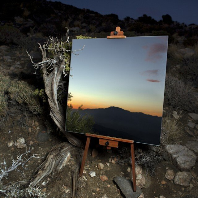 The Edge Effect, Highlighting Nature's Contrasts With a Mirror, Easel, & Camera