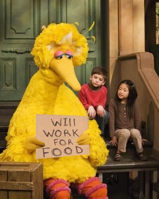 Big Bird Gets Fired
