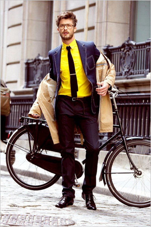 How do you look good while riding your bike?
