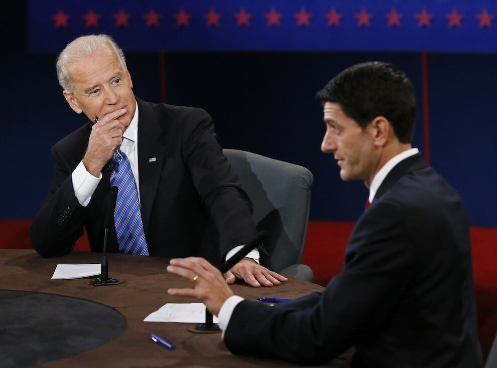 The Many Faces of Joe Biden от Veggie за 12 oct 2012