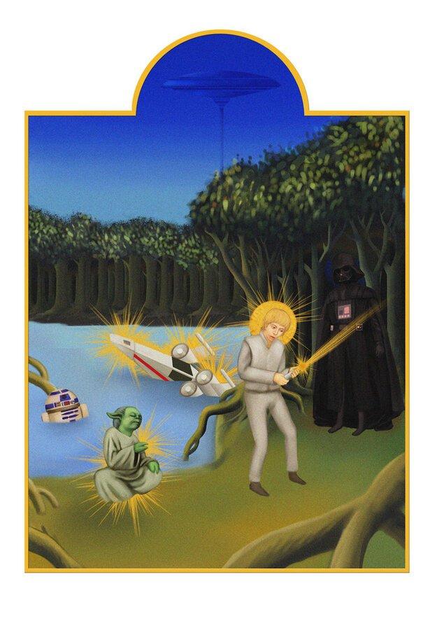 Star Wars as Medieval Manuscripts  от Veggie за 14 oct 2012