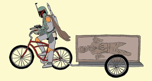 Super Heroes on Bikes.