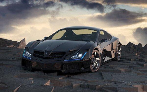 Mercedez-Benz SF1 Concept от mick за 20 oct 2012
