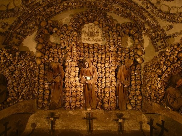Creepy Crypts and Catacombs