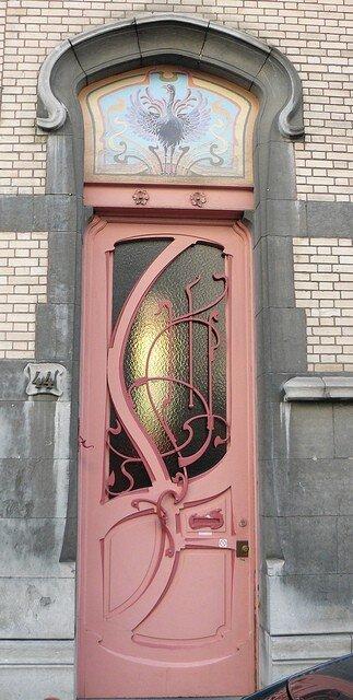 Stunning Art Nouveau Doors