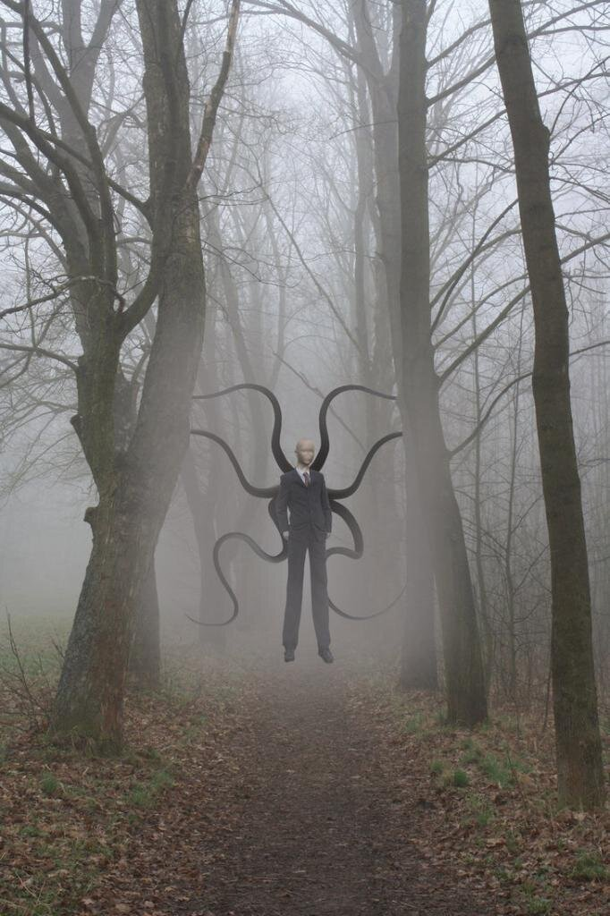Who Is Slender Man? He eats your Children.