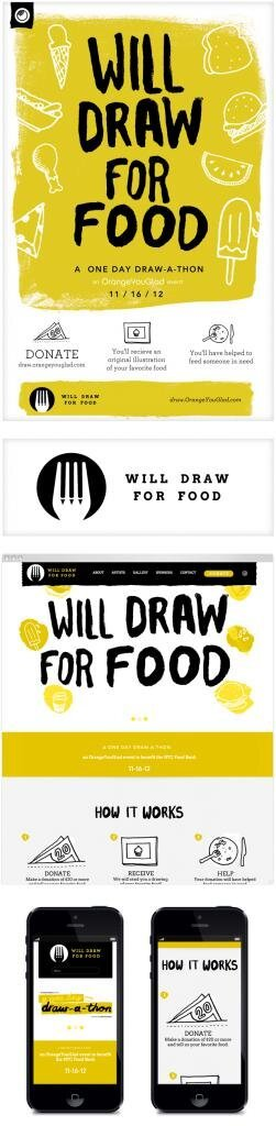 Will Draw for Food