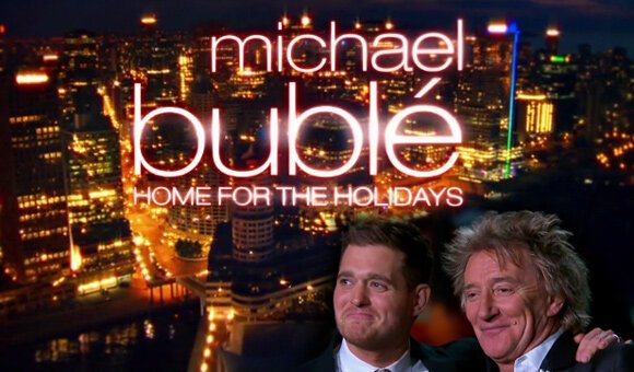 "Michael Bubble brings stars together for his new holiday special ""Home for the Holidays"" on NBC"