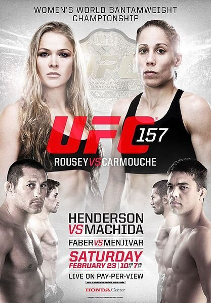 Henderson vs. Machida / Rousey vs. Carmouche