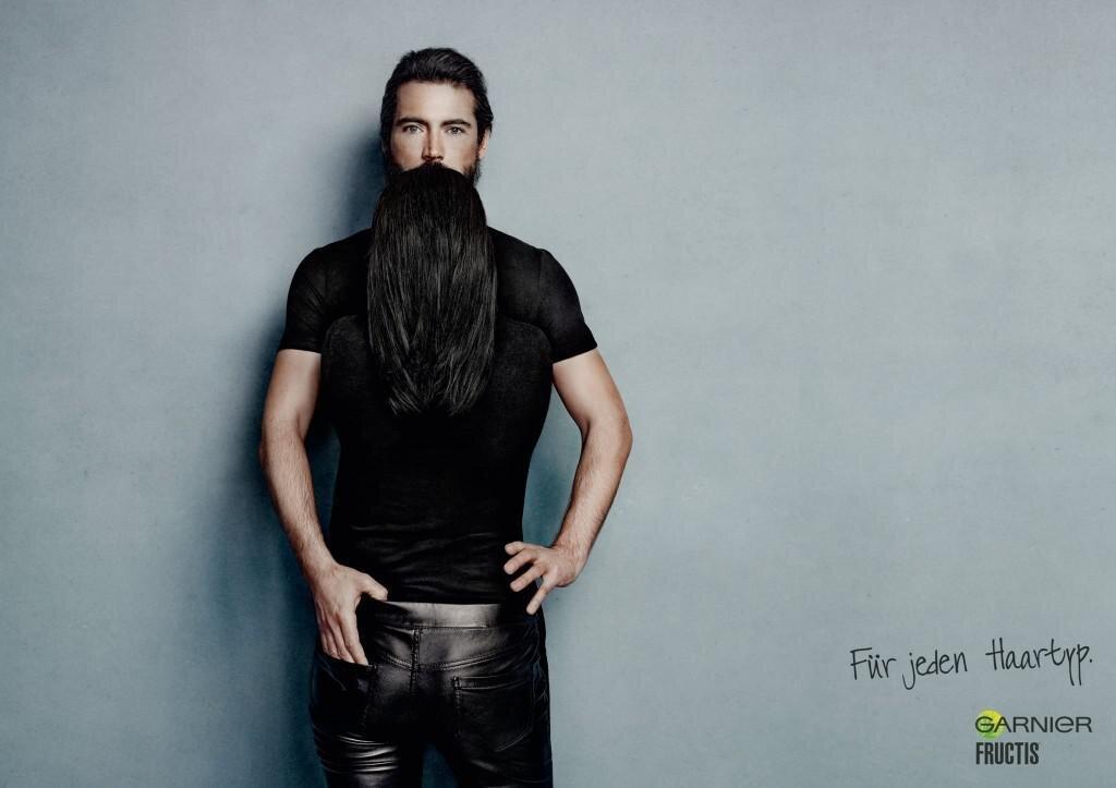 Beard Illusions Like Never Before