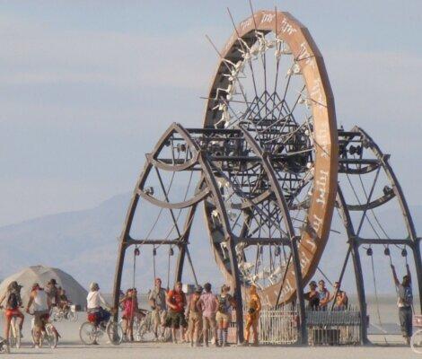 Burning Man Amazing Sculptures