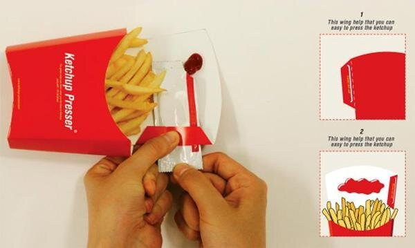 Squeeze the Sh*t out of Your Ketchup Packet