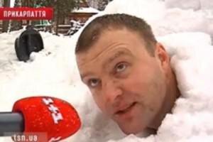 Ukrainians Are Not Afraid of Snow!