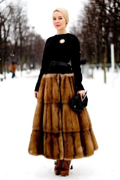 Snowy Weather Fashion Furrrr All