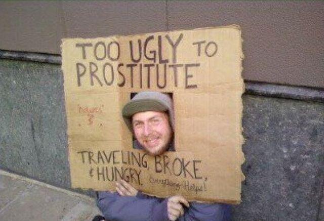 Homeless People Get Creative от Marinara за 04 feb 2013
