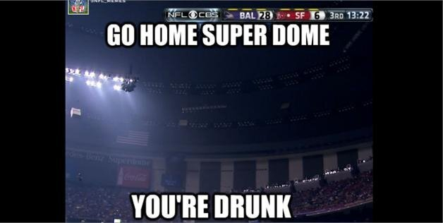 Best SuperBowl Blackout Memes