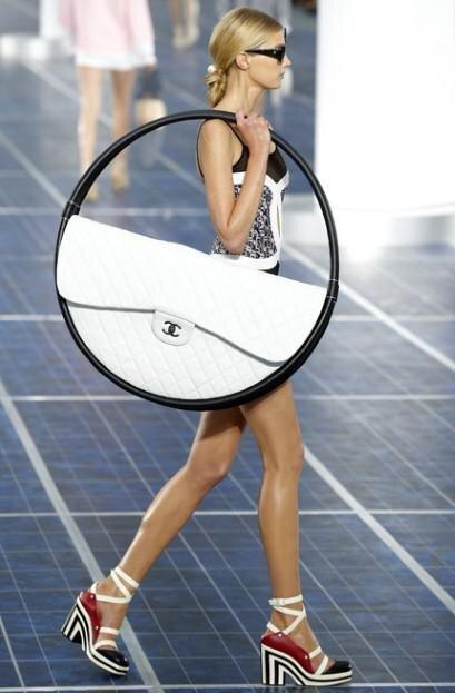 Chanel's New Styles Go Ultra Art Deco